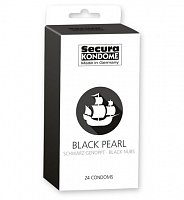 Kondomy Secura Black Pearl 24 ks