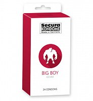 Kondomy Secura Big Boy 60 mm 24 ks
